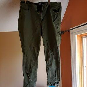 Old navy green rockstar pants